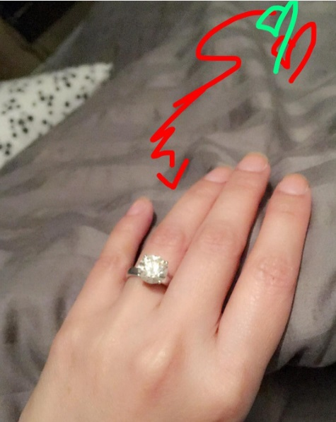 Rufa Mae Quintos Round Cut Diamond Ring The Engagement Ring Bible