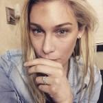 Sarah Louise Fudge's Round Cut Diamond Ring