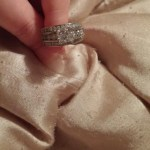 Amber Leann Portwood's Square Shaped Diamond Ring