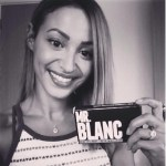 Amelle Berrabah's Round Cut Diamond Ring