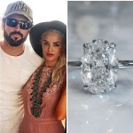 Kaitlynn Carter's 4.5 Carat Oval Diamond Ring