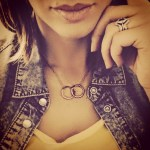 Lucy-Jo Hudson's Round Cut Diamond Ring