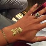 Phylicia Jackson's Emerald Cut Emerald Stone Ring