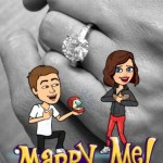 Miranda Kerr's Round Cut Diamond Ring