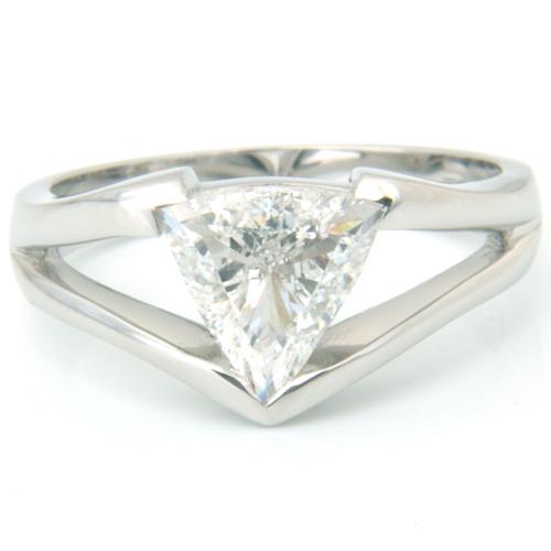 Platinum-Trillion-Cut-Diamond-Engagement-Ring