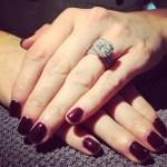 Lisa Cannon's Princess Cut Diamond Ring