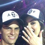 Ximena Navarrete's Round Cut Diamond Ring