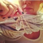 Elisa Donovan's Cushion Cut Diamond Ring