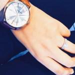 Kiran Khan's Round Cut Diamond Ring