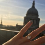 Pixie Lott's Oval Cut Diamond Ring