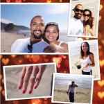 Rochelle Aytes' Emerald Cut Diamond Ring