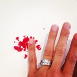 Kristi Townley's Square Shaped Diamond Ring
