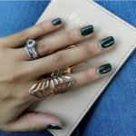 LeAnne Dlamini's Heart Shaped Amethyst Ring