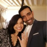 Sheehal Goutham's Round Cut Diamond Ring