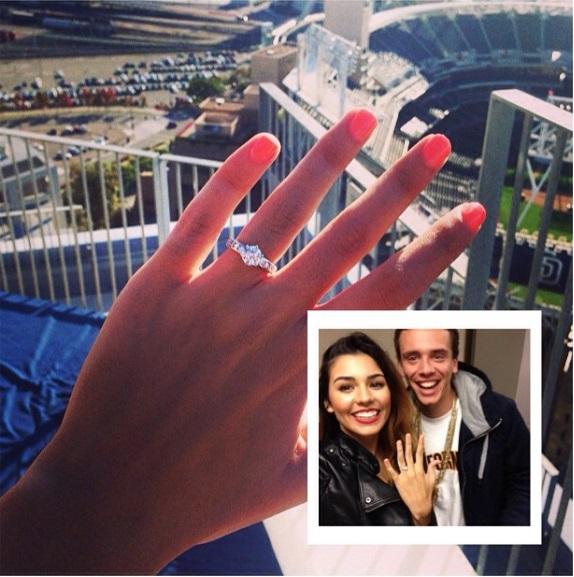 Jessica Andreas Round Cut Diamond Ring