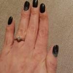 Beth Tweddle's Round Cut Diamond Ring