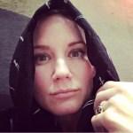 Jennifer Nettles' Round Cut Black Diamond Ring