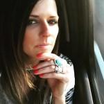 Karen Fairchild's Square Shaped Diamond Ring