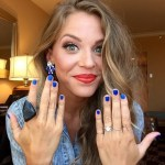 Lauren Gregory's Round Cut Diamond Ring