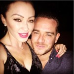 Natasha Hamilton's Square Shaped Diamond Ring