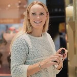 Caroline Wozniacki's Round Cut Diamond Ring