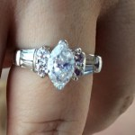 Vickie Guerrero's Marquise Shaped Diamond Ring