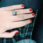 Brighton Thompson's Diamond Shaped Diamond Ring