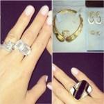 Elizabeth Chambers' Emerald Cut Diamond Ring