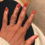 Kerry Washington's Round Cut Diamond Ring