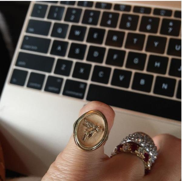 Leandra Medine Engagement Ring
