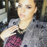 Marsha Ambrosius' Round Cut Diamond Ring