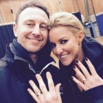 Natalie Lowe's Round Cut Diamond Ring