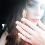 Hannah Blaylock's Round Cut Diamond Ring