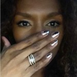 Janet Mock's Oval Cut Diamond Ring