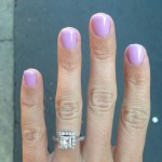 Sarah Hinton's Square Shaped Diamond Ring