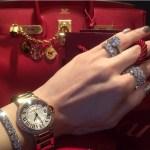 Gia Casey's Round Cut Diamond Ring