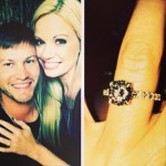 Lauren Anderson's Round Cut Diamond Ring