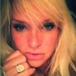 Leighanne Wallace's Cushion Cut Diamond Ring