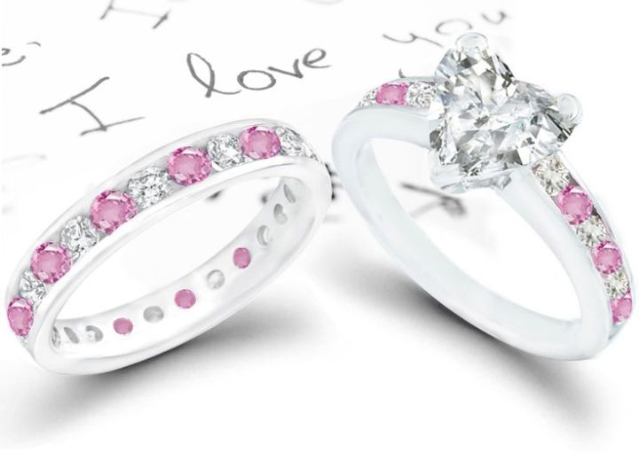 Pink engagement rings trend the engagement ring bible trend alert pink engagement rings junglespirit Gallery