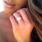 Melissa Molinaro's Round Cut Diamond Ring