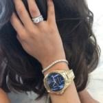 Clementine McVeigh's Round Cut Diamond Ring