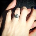 Jennifer Wenger's Round Cut Diamond Ring