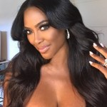 Kenya Moore's Oval Cut Diamond Ring