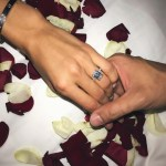 Vita Sidorkina's Emerald Cut Diamond Ring