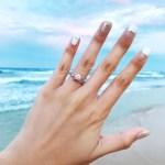 Cassey Ho's Round Cut Diamond Ring