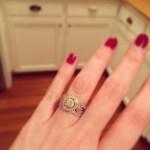 Erin Napier's Round Cut Diamond Ring