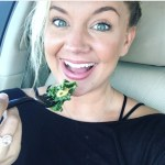 Tiffany Thornton's Round Cut Diamond Ring