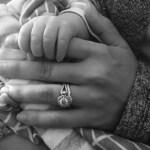 Allison Holker's Round Cut Diamond Ring
