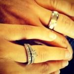 Alyssa Bates' Princess Cut Diamond Ring
