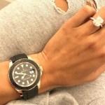 Draya Michele's Radiant Cut Diamond Ring